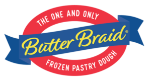 school fundraiser - butter braid logo